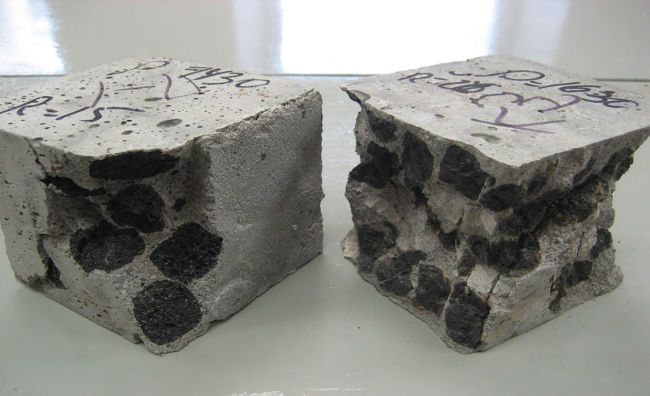 запас бетона